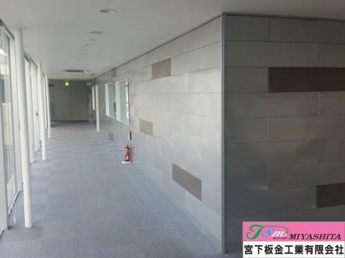 金属壁、内装、ガルバリウム鋼板