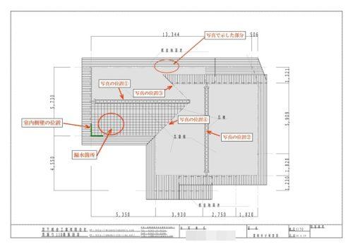 瓦屋根、説明図