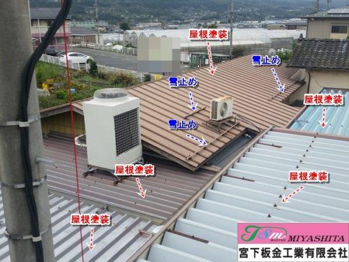 屋根、塗装、維持