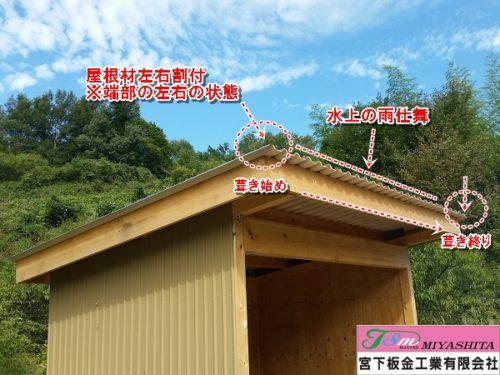 屋根、雨水