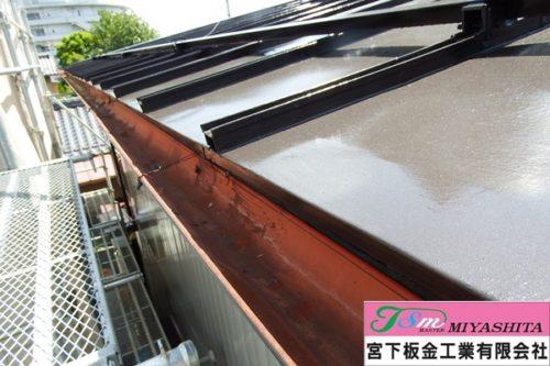 鋼板屋根、塗装、雨樋、宮下板金