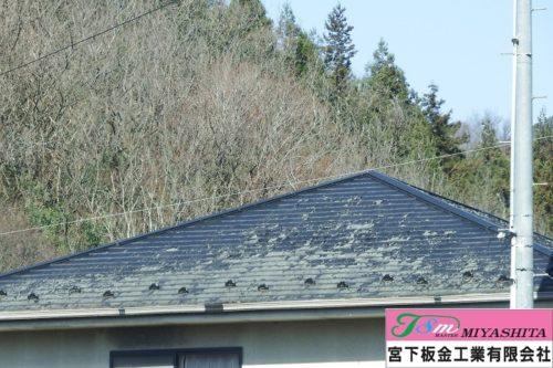 化粧スレート、屋根塗装
