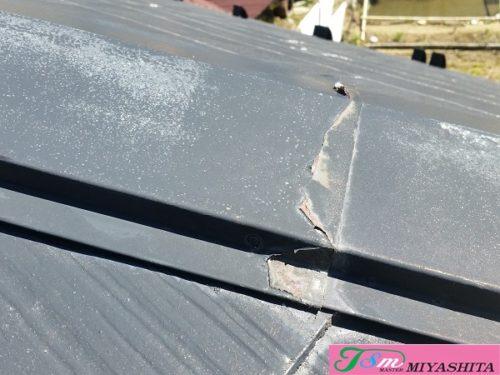 下り棟、棟包み、化粧スレート屋根